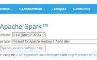 运行Spark官方提供的例子